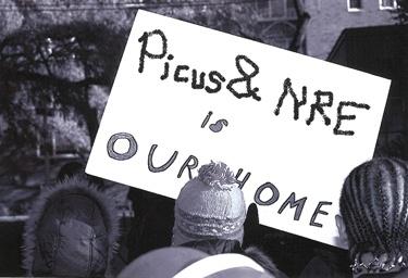 Burgerbijeenkomst over Picuskade/NRE-terrein