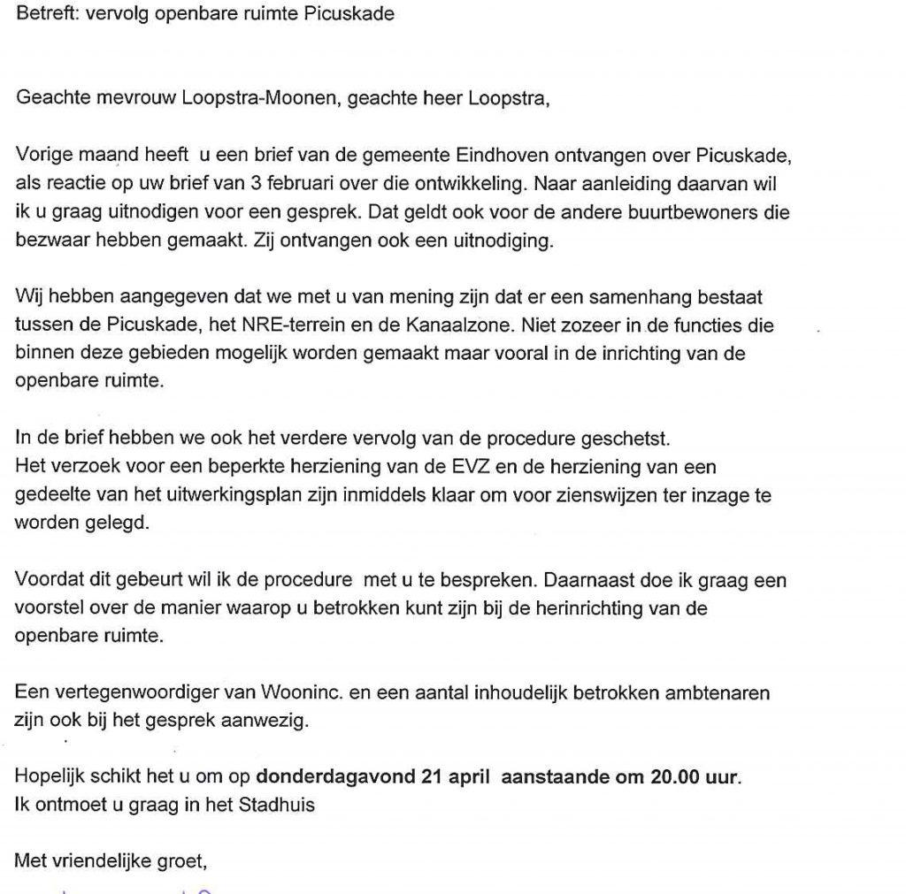 2016-04-15 brief wethouder Seuren