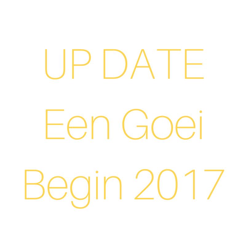 Een Goei Begin – update
