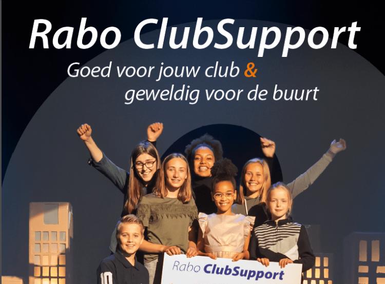 Rabo ClubSupport, een oproep aan alle buurtbewoners die bankieren bij de Rabobank, HELP!
